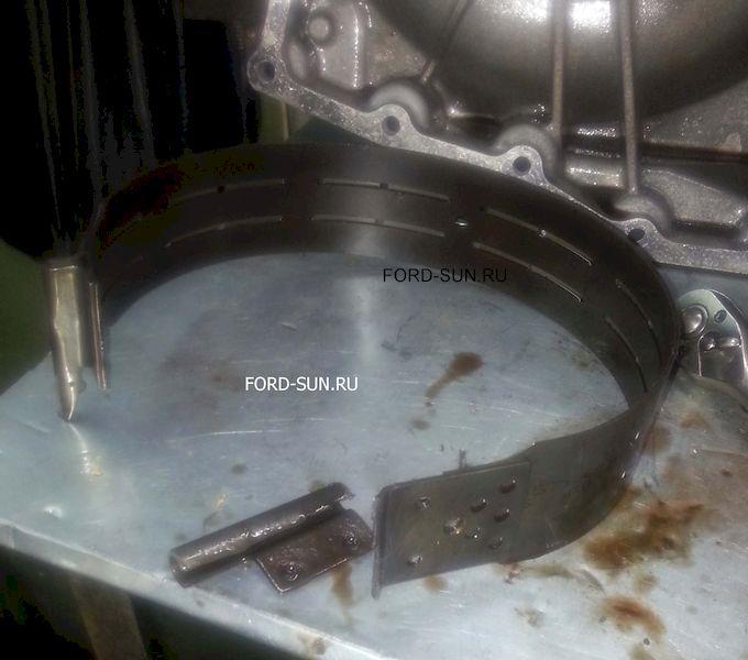 порванная тормозная лентав CD4E