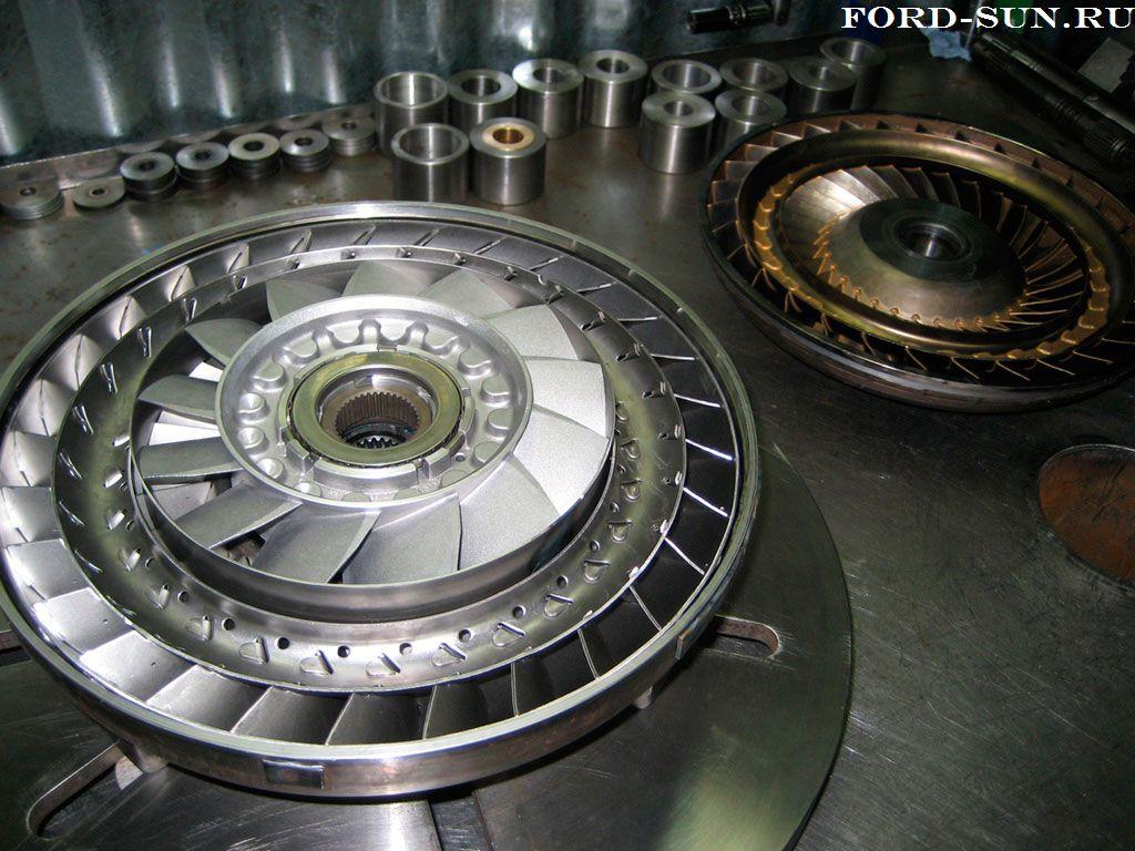Гидротрансформатор АКПП CD4E.