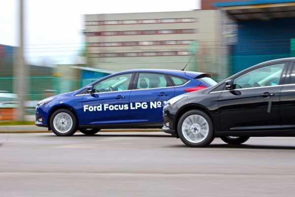 Ford Focus CNG 2018 в России появилась модель на газовом оборудовании